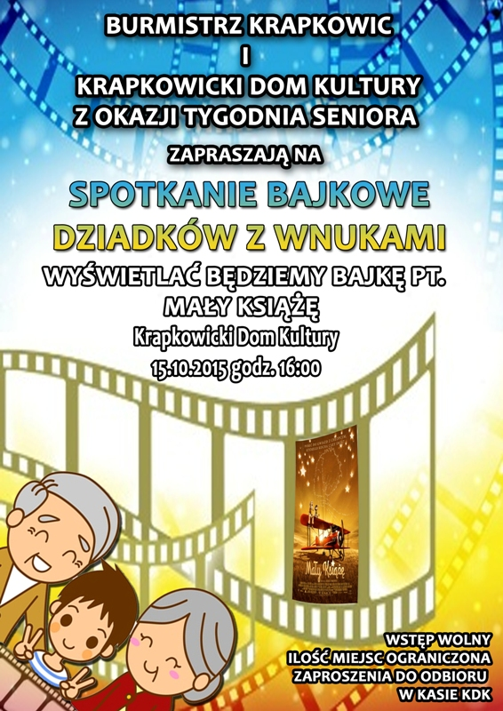 plakat na seans dla dziadków z wnukami www.jpeg