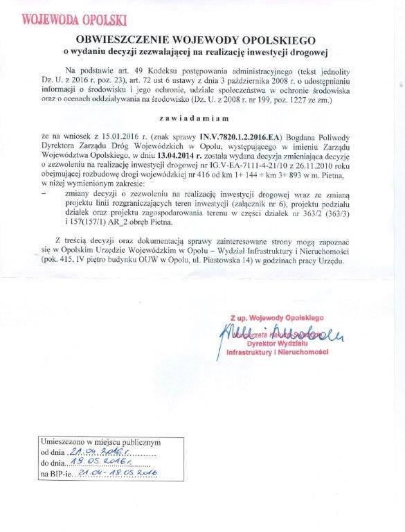 Obwieszczenie Wojewody Opolskiego - środow.jpeg