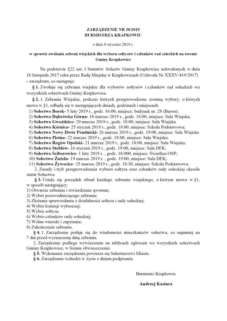 Zarządzenie w sprawie zwołania zebrań wiejskich dla wyboru sołtysów i członków rad sołeckich.png