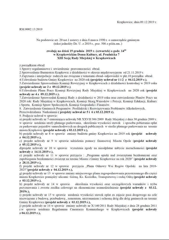 XIII Sesja Rady Miejskiej w Krapkowicach_1.png