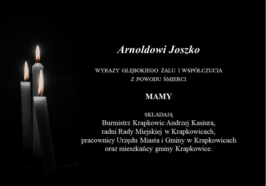 kondolencje Arnold Joszko.jpeg