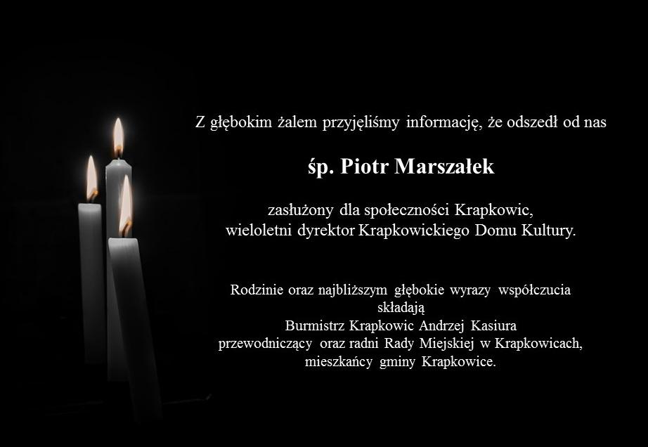 kondolencje Piotr Marszałek.jpeg
