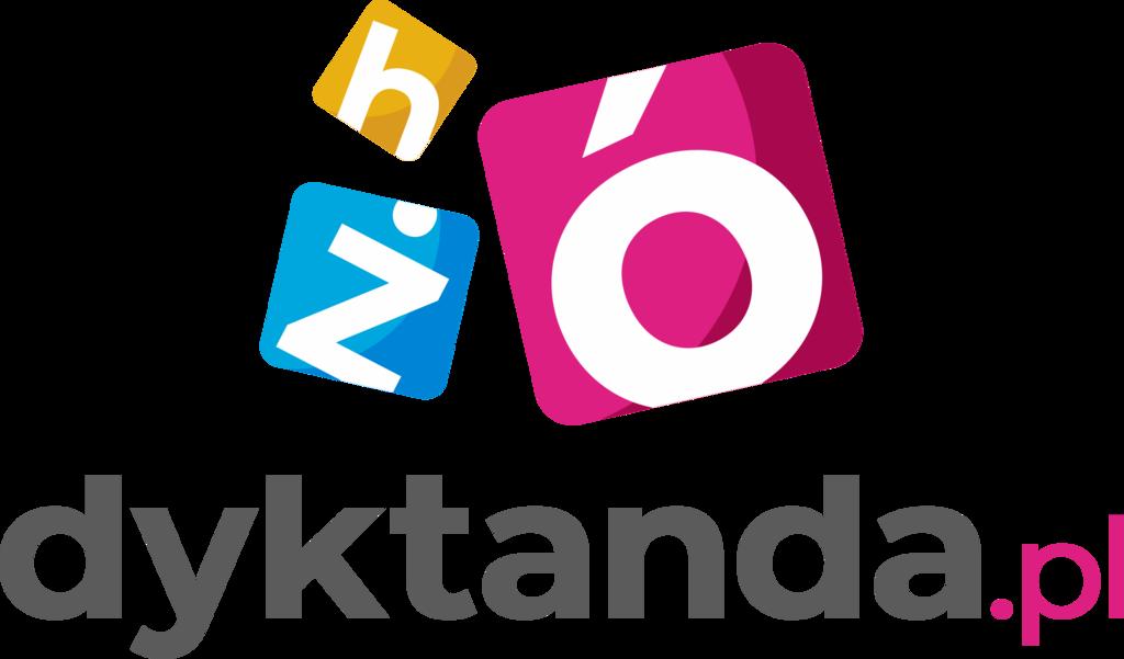 Logo Dyktanda wersja pionowa na białe tło.png