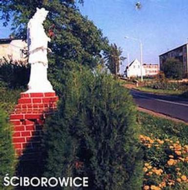 Figura św. Nepomucena w Ściborowicach