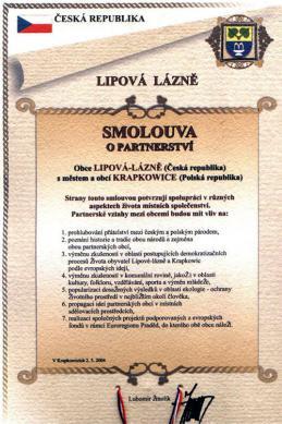 Krapkowice - Lipova Lazne - język czeski