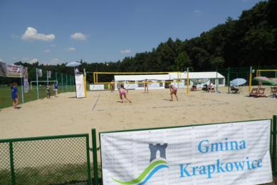 Galeria Finałowy turniej Mistrzostw Polski Juniorek w siatkówce plażowej