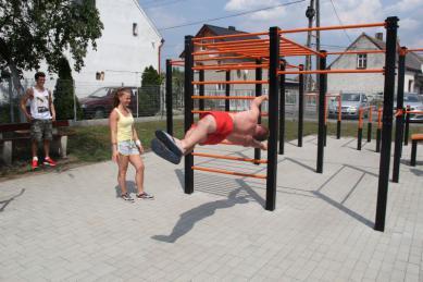 Galeria street workout