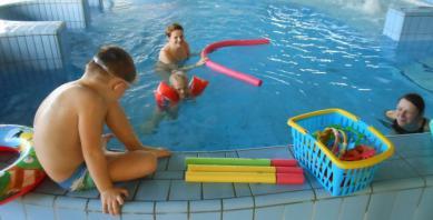 Galeria przedszolaki na basenie