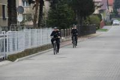 Galeria patrole na rowerach