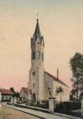 Galeria Krapkowice na starej pocztówce
