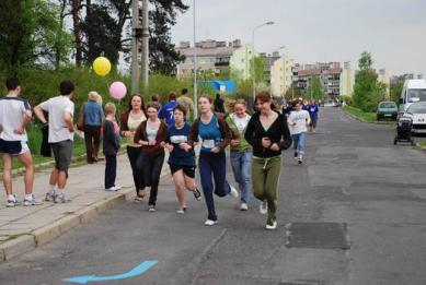 Galeria krapkowicki bieg uliczny XXVI dzieci