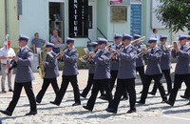 Galeria wojewódzkie święto policji w Krapkowicach
