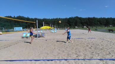 Galeria Turniej Plażowej Piłki Siatkowej