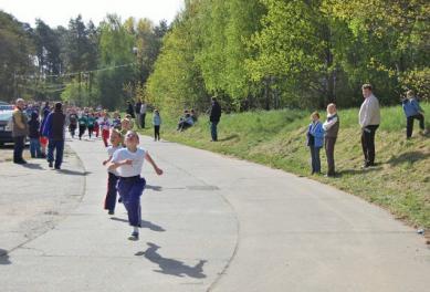 Galeria XXV bieg krapkowicki dzieci