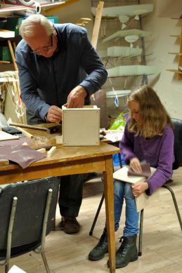 Galeria Warsztaty budowania karmników