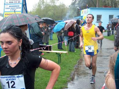 fot.M.Migdał: XXIV Krapkowicki Bieg Uliczny_1.05. 2006