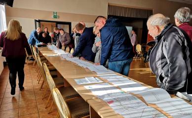 Galeria Spotkanie dotyczące przebudowy DK 45
