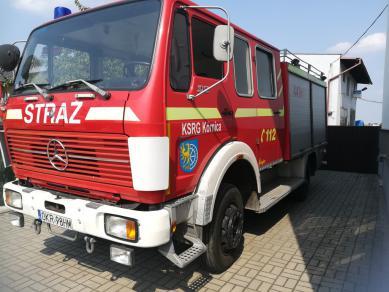 Galeria Samochód pożarniczy