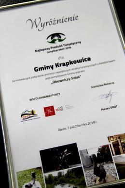 Galeria Obuwniczy Szlak nagrodzony