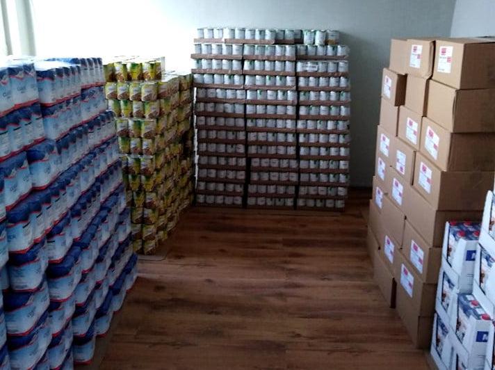 Galeria Żywność dla najbardizej potrzebujących