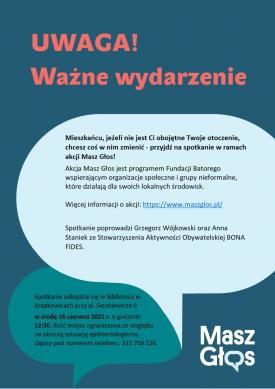Plakat_zaproszenie na spotkanie_Masz Głos.png